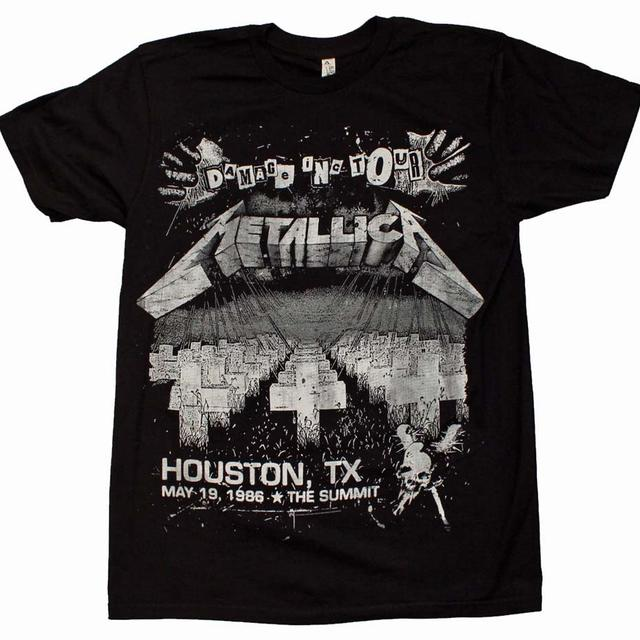 Metallica T Shirt | Metallica Damage on Tour T-Shirt