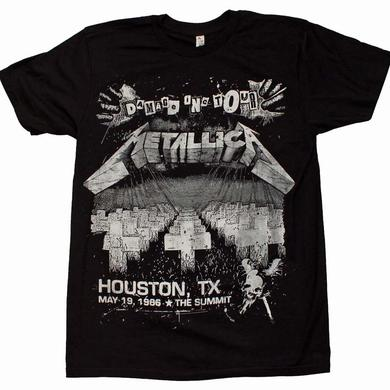 Metallica T Shirt | Metallica Damage on Tour T-Shirt