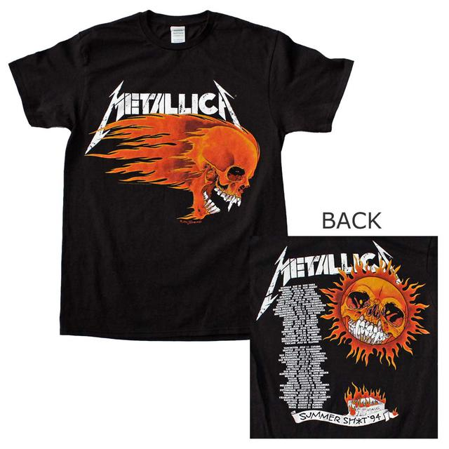 Metallica T Shirt | Metallica Flaming Sun T-Shirt