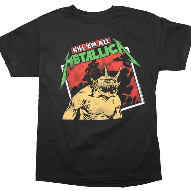 Metallica T Shirt | Metallica Kill em All Tilted T-Shirt