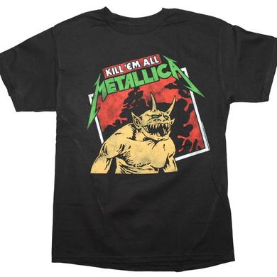 Metallica T Shirt | Metallica Kill em All Tilted T-Shirt