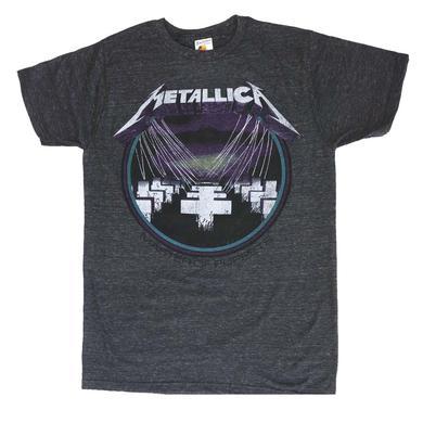 Metallica T Shirt | Metallica MOP Vintage Black Heather T-Shirt
