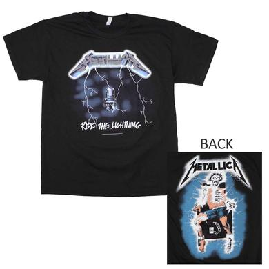 Metallica T Shirt | Metallica Ride the Lightning T-Shirt