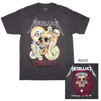 Metallica T Shirt | Metallica Shortest Straw T-Shirt
