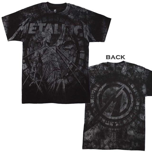 Metallica T Shirt   Metallica Stone Justice T-Shirt