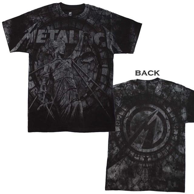 Metallica T Shirt | Metallica Stone Justice T-Shirt