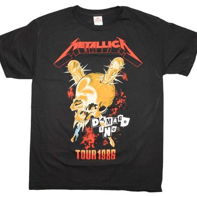 Metallica T Shirt | Metallica Tour '86 T-Shirt