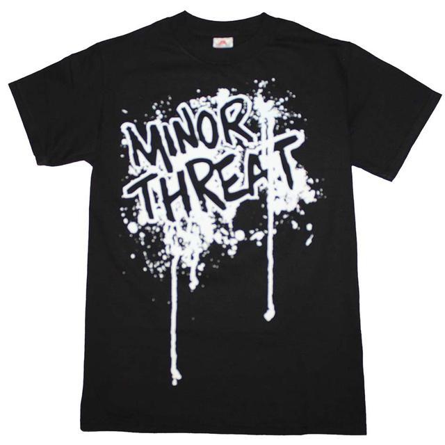 Minor Threat T Shirt | Minor Threat Drip Logo T-Shirt