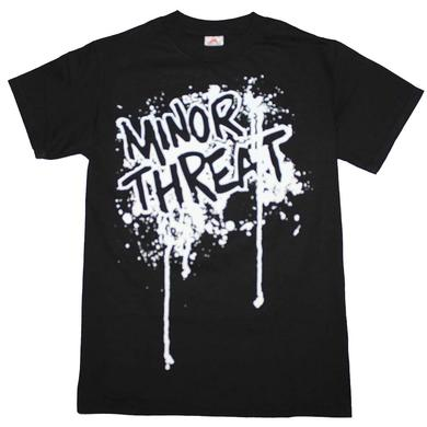 Minor Threat T Shirt | Minor Threat Drip Logo T-Shirt