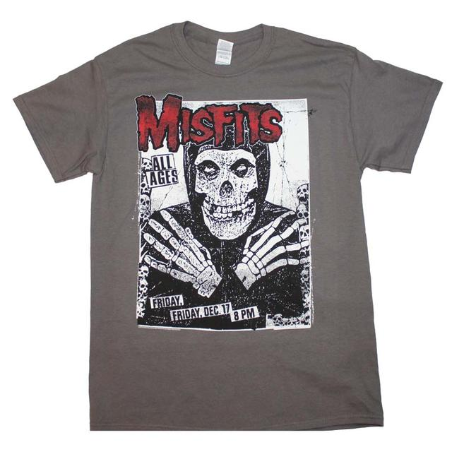 Misfits T Shirt | Misfits All Ages Skeleton T-Shirt