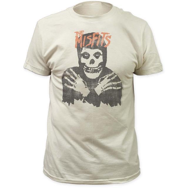 Misfits T Shirt | Misfits Classic Skull Distressed Print T-Shirt