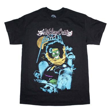 Motley Crue T Shirt | Motley Crue Graveyard Vintage-Inspired T-Shirt