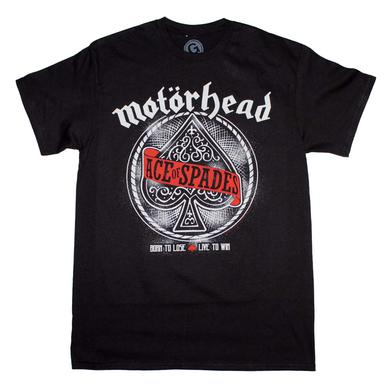 Motorhead T Shirt | Motorhead Ace of Spades T-Shirt
