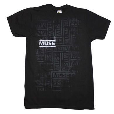 Muse T Shirt   Muse Repeat T-Shirt