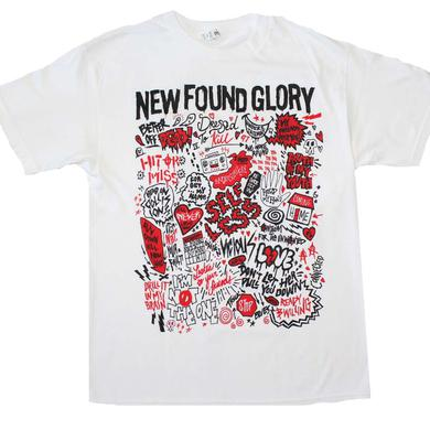 New Found Glory T Shirt | New Found Glory Hits T-Shirt