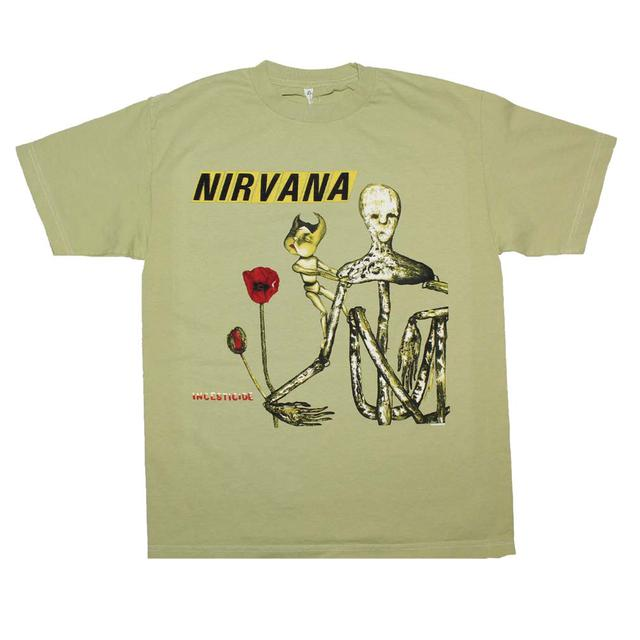 Nirvana T Shirt | Nirvana Incesticide Album T-Shirt