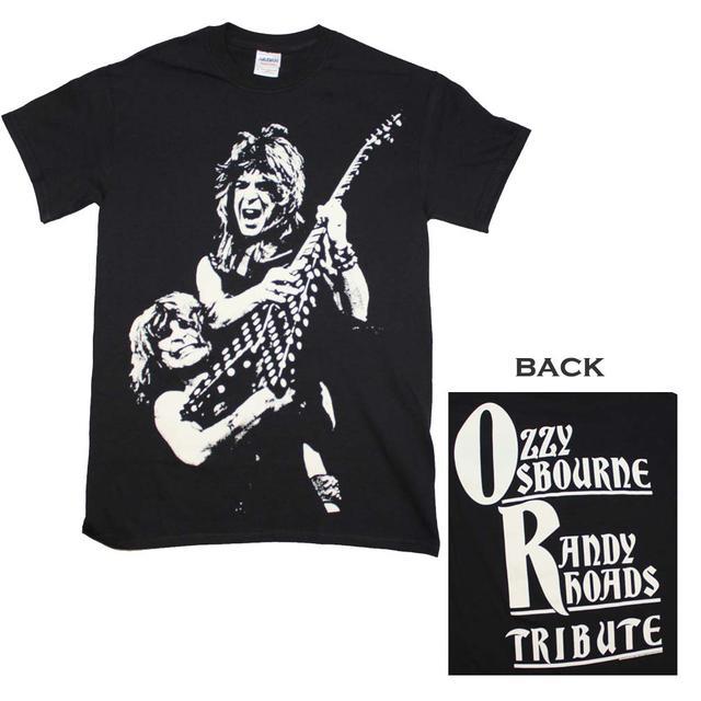 Ozzy Osbourne T Shirt | Ozzy Osbourne Randy Rhodes Tribute T-Shirt