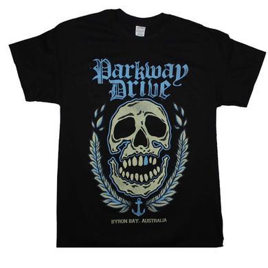 Parkway Drive T Shirt | Parkway Drive Byron Bay Skull T-Shirt