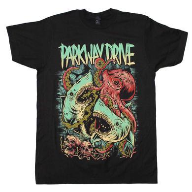 Parkway Drive T Shirt | Parkway Drive Sharktopus T-Shirt
