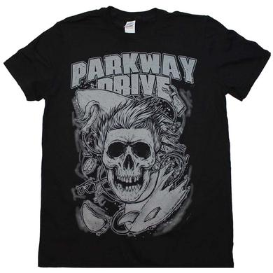 Parkway Drive T Shirt | Parkway Drive Surfer Skull T-Shirt