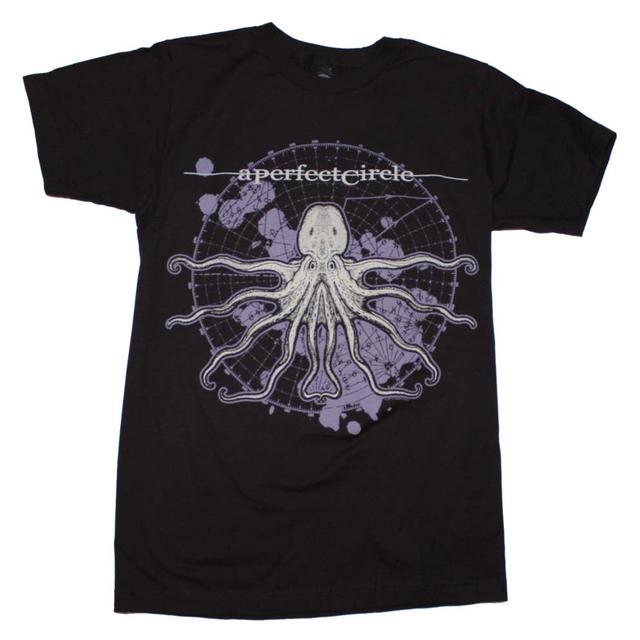 A Perfect Circle T Shirt | A Perfect Circle Octo Diagram Slim Fit T-Shirt