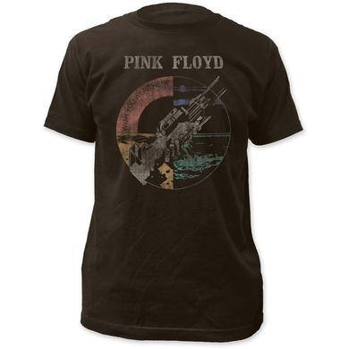 Pink Floyd T Shirt | Pink Floyd Wish You Were Here Distressed Fitted T-Shirt