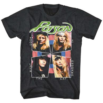 Poison T Shirt | Poison Cat Dragged In T-Shirt