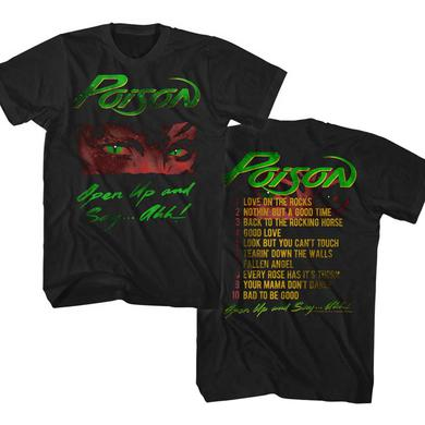 Poison T Shirt | Poison Open Up T-Shirt