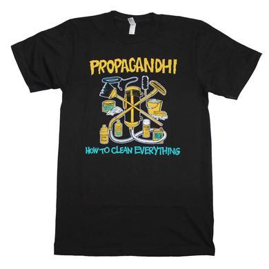 Propagandhi T Shirt | Propagandhi How to Clean Everything T-Shirt