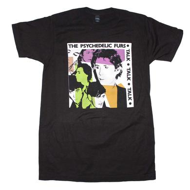 Psychedelic Furs T Shirt | Psychedelic Furs Talk Talk Talk Fitted T-Shirt