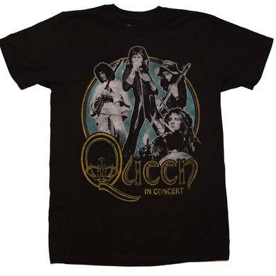 Queen T Shirt | Queen in Concert 30/1 T-Shirt