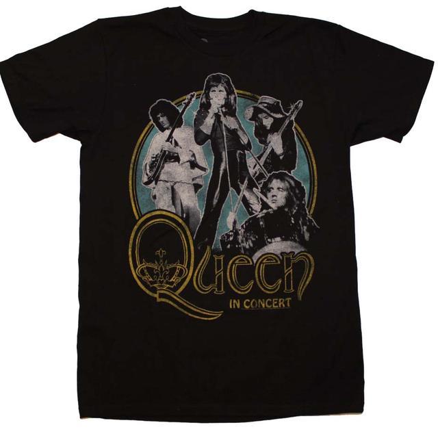 Queen T Shirt | Queen in Concert 30/1 T-Shirt