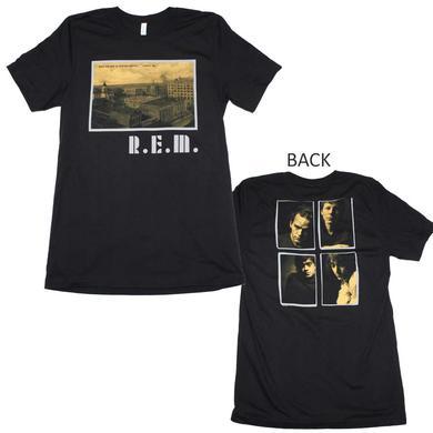 R.E.M. T Shirt | R.E.M. Athens Postcard T-Shirt