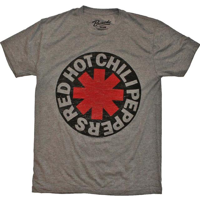 Red Hot Chili Peppers T Shirt | Red Hot Chili Peppers Asterisk Circle T-Shirt