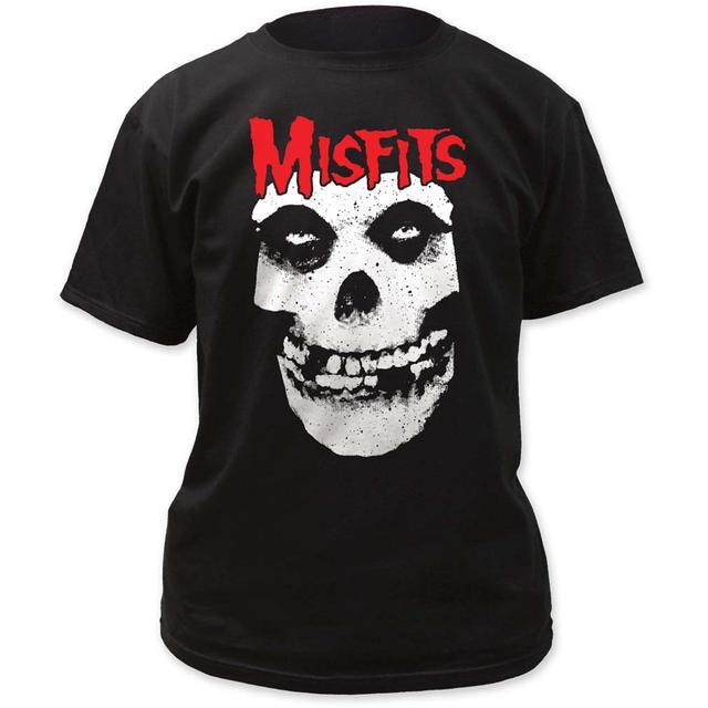 Misfits T Shirt | Red Skull Logo Misfits T-Shirt