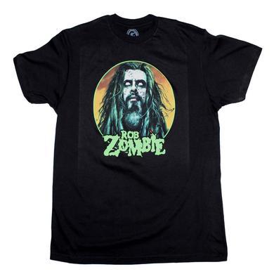 Rob Zombie T Shirt | Rob Zombie Face T-Shirt