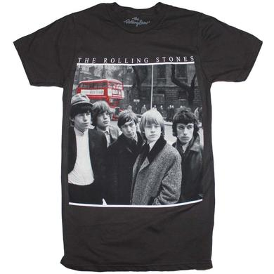 Rolling Stones T Shirt | Rolling Stones Bus Photo T-Shirt