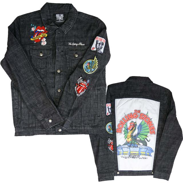 The Rolling Stones Dragon Denim Jacket