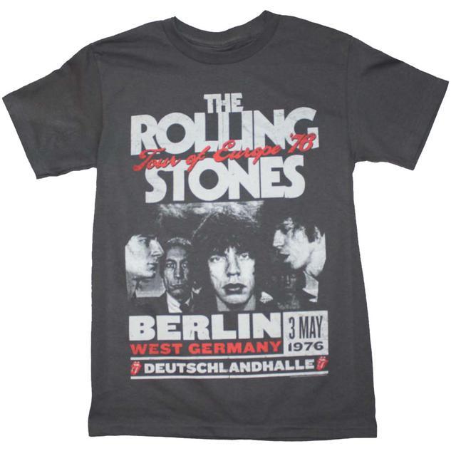 Rolling Stones T Shirt | Rolling Stones Europe 76 Tour T-Shirt
