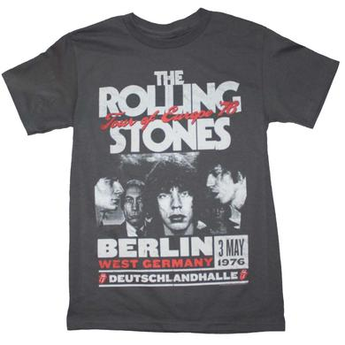 Rolling Stones T Shirt | Rolling Stones Europe 76 Tour T-Shirt