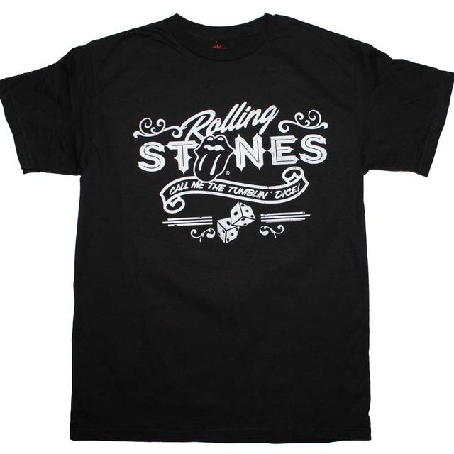 Rolling Stones T Shirt | Rolling Stones Tumbling Dice T-Shirt