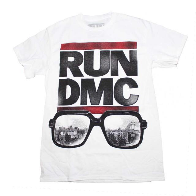 Run DMC T Shirt | Run DMC Glasses NYC T-Shirt