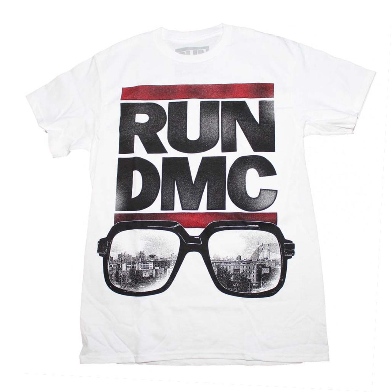 run dmc t shirt run dmc glasses nyc t shirt. Black Bedroom Furniture Sets. Home Design Ideas