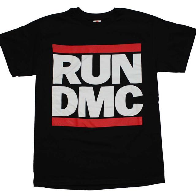 Run DMC T Shirt | Run DMC Logo Black T-Shirt