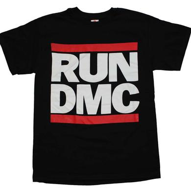 Run DMC T Shirt | Run DMC Logo Black T-Shirt