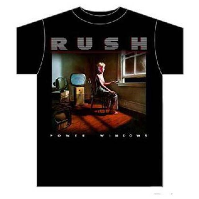 RUSH T Shirt | RUSH Power Windows T-Shirt