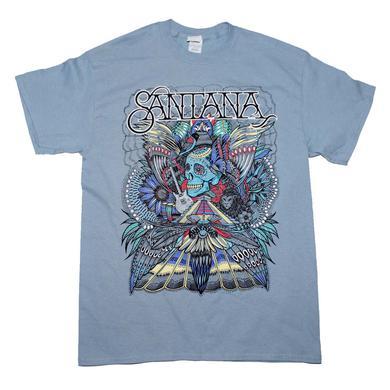 Carlos Santana T Shirt | Santana Folk Skull T-Shirt