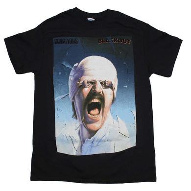 The Scorpions T Shirt | Scorpions Blackout T-Shirt