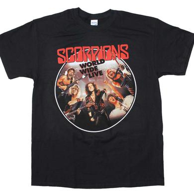 The Scorpions T Shirt | Scorpions Worldwide Live T-Shirt
