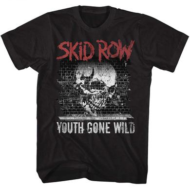 Skid Row T Shirt | Skid Row Graffiti Gone Wild T-Shirt